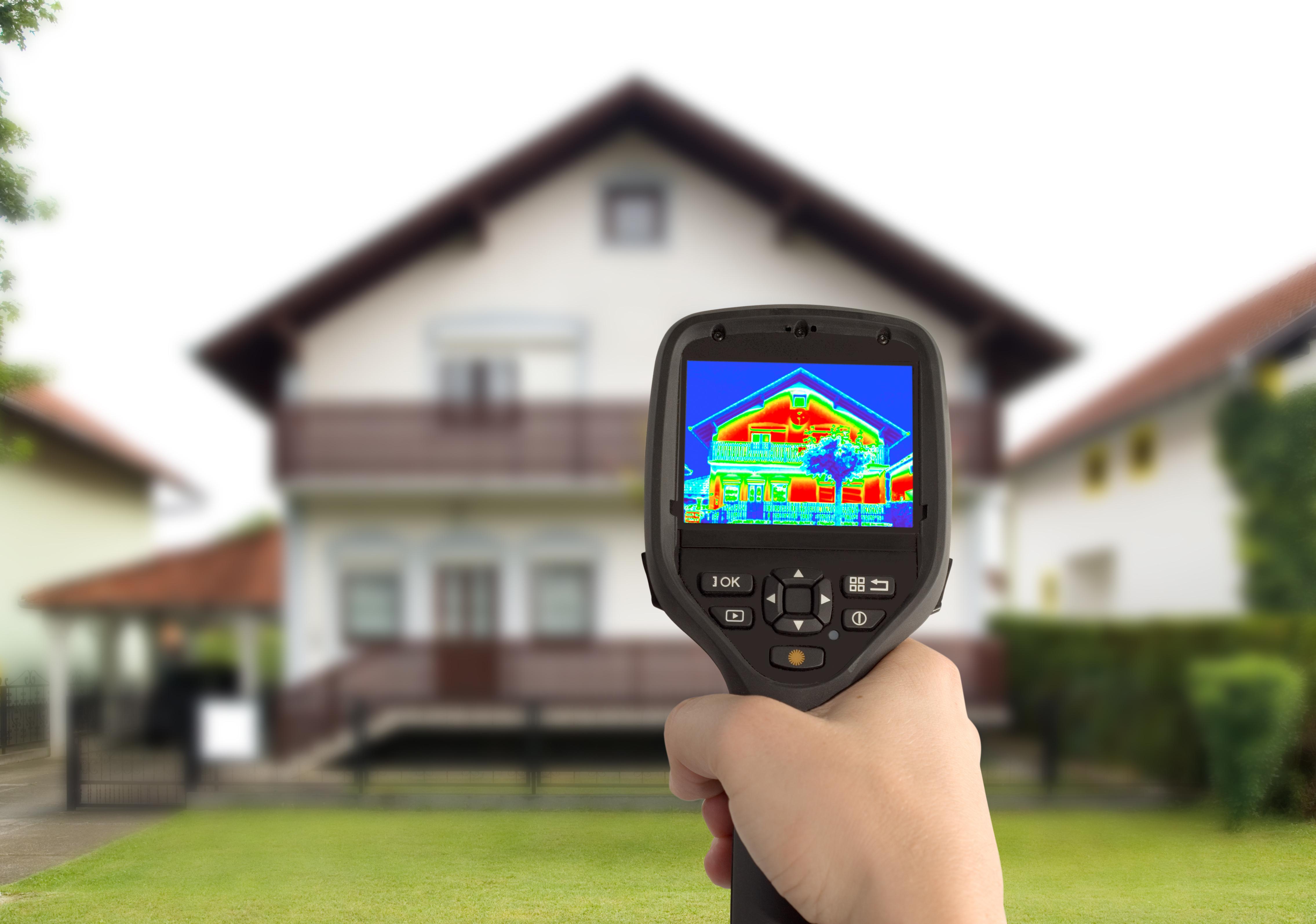 Thermografie (Wärmebilder) durch Energieberatung Huber